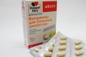 Витамины для больных диабетом. Какие они?